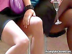 Two horny babes love getting part2