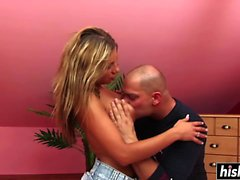 Hot Rachel Evans gets banged hard
