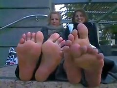 Französisch Mädchen Füße
