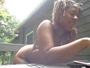 Beautiful webcam girl flashing boobs and great ass