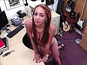 Woman strips at pawnshop ends up pounded