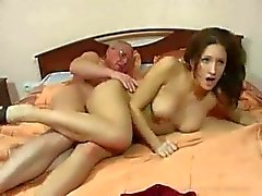 Pure family sex: grandfather and granddaughter