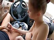 attraktiva avsugning i min bil