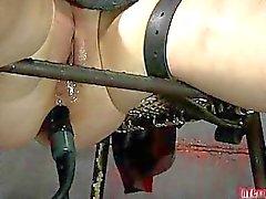 Painful feet worshipping