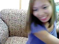 Regine Morados Asian webcam whore! Pinay slut!