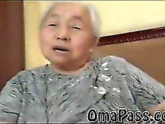 Donna Obesa vecchi Giappon granny fottuto