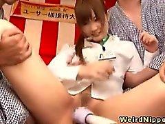 Seks oyunları keyif Genç asyalı bürosu sürtük