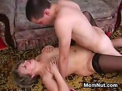 Mature Russian Woman And Two Younger Guys