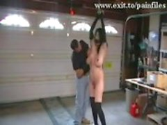 Wrede BDSM beeldmateriaal van onze Slut Gevangenis