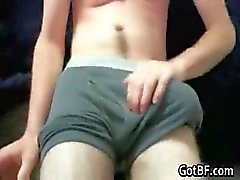 Onbekend Twink Met Behaarde Benen Jacking part4