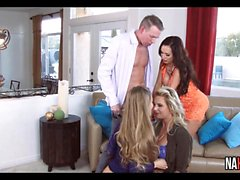 3 Gorgeous Pussies Nicole Aniston, Nikki Benz, Phoenix Marie