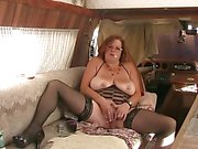 Solo #4 (Mature Redhead with Big Boobs)