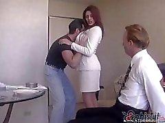 Raylene en yakışıklı koca eşi çivilenmiş olsun bağladı ve izlemek için yapılmış olur