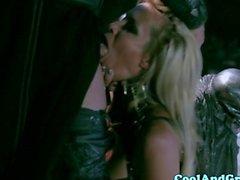 Wie Jessica drake Würgen auf Schwanz
