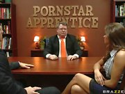Madelyn Marie proves her worth on the pornstar apprentice show