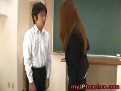 Junna Aoki Hot Asian teacher gets part3