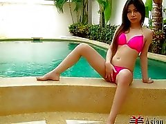 Thailand Girl Poolside Solo