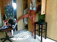 Blue bikini two
