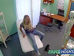 FakeHospital Dizzy blonde takes a creampie