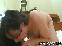 Takako Nishazawa : giappone Moglie scopata dal suo Vicina