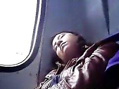 Groping Girl On The Bus