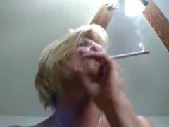 BIg Nippled Smoking Mature.