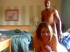 Black Stud fucks white girl silly