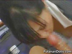 Asiatische Futanari Teens Nymphomanin !