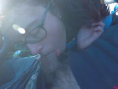 Big Cum On My Glasses & Love At Beach =D