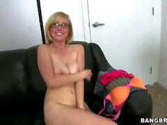 Blonde with glasses Penny Pax gets Anal fucked