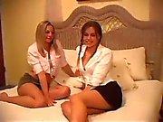 Super hot girls scene