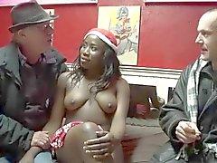 Leuke Ebony Kerstman .