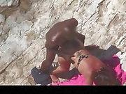 Estrangeiro - Скрытая камера Cam, черный чувак трахает большой прикладом