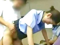 Asiatisch Babe Stewardess lehren S asiatisch asiatische Cumshot Cumshot schlucken japanisch chinesisch
