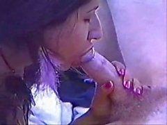 Mulher indiana incrível habilidade Deepthroat