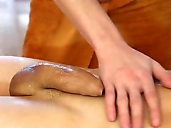 Hot gay massage scene featuring gorgeous studs Tom and Jose