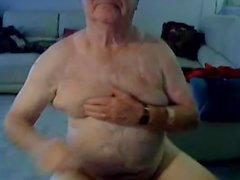 инсульта дедушка а показать на кулачком