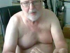 spettacolo nonno in webcam