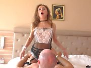 Hotel maid force fucked cleaning windows with her tongue. Mia Bandini