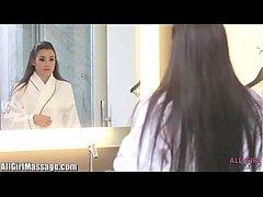 All Girl Massage Lesbian Anal Lèche à l'Hôtel