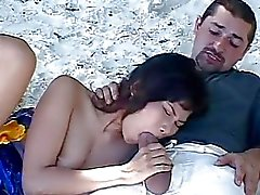 Hot Action with a Thai Goddess on Phuket Beach by BBLover
