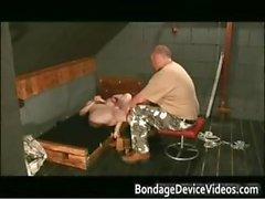Sex toy Machine load Twice fetish scene part5