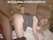 Slut Wife baisée à Black Boy Club par BBC