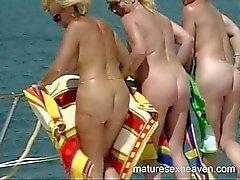 Granny Yacht Orgy Part six