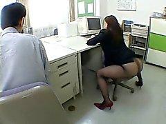 Japanse kantoor meisje maakt me gek door airliner1