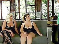 Very fat bitches fuck a gardener outdoor