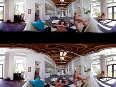VR Orgien Group Sex 360 Experience Virtual Reality Porn