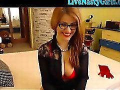 Redhead Webcam Girl With Big Tits 1