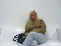 Чешский Casting - Горячая блондинка Анхель Вероники ( 3483 )