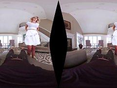 Big bunda gostosa Brooke Wylde montando pau vaqueira estilo VR